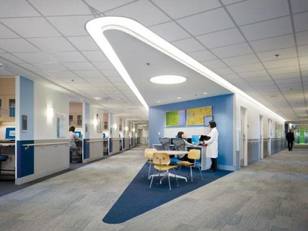 Interior Rumah Sakit Yang Tepat Mempengaruhi Psikologi Pasien