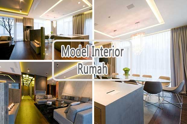 model interior rumah