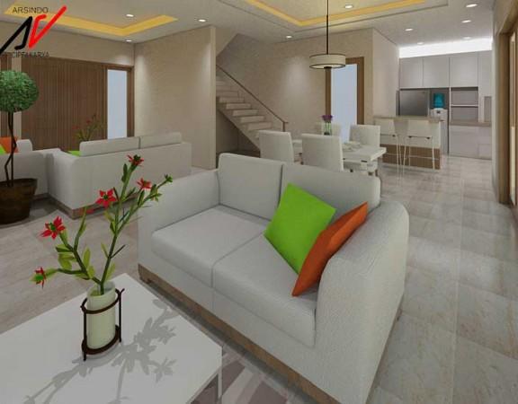 Project Desain Interior Rumah Pak Surya Bogor