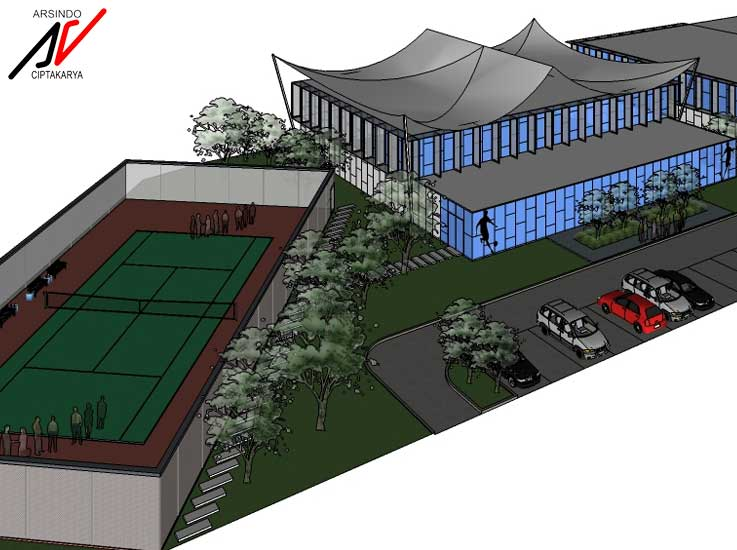 Project Desain Sport Center Matland Bekasi