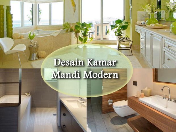 Desain Kamar Mandi Modern Dan Minimalis 2014