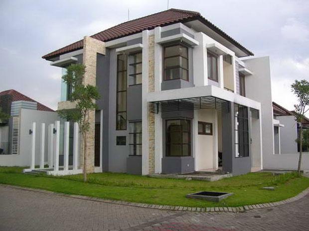 Desain Rumah Surabaya 2 Lantai Minimalis Hub 031-91652779