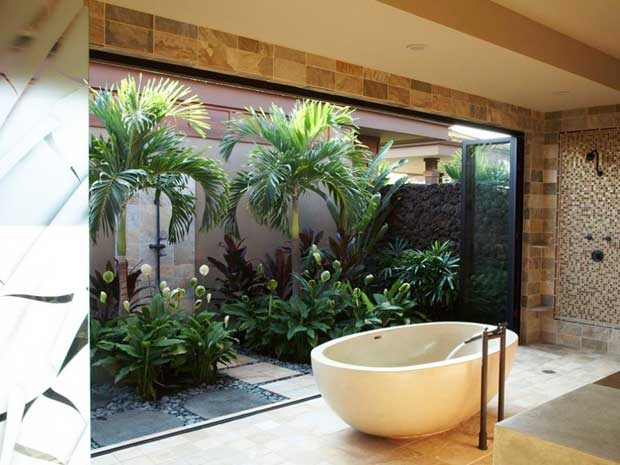 desain interior rumah tropis surabaya