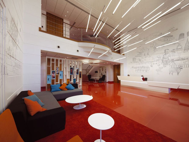 interior lobi kantor
