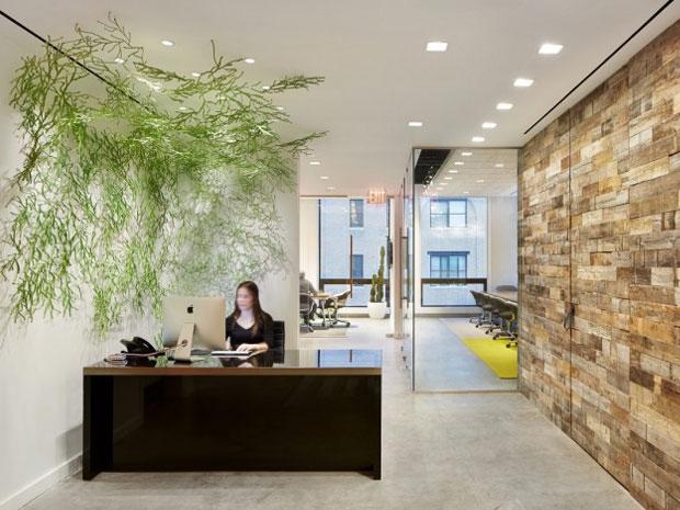 desain lobby kantor
