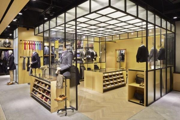 interior butik baju