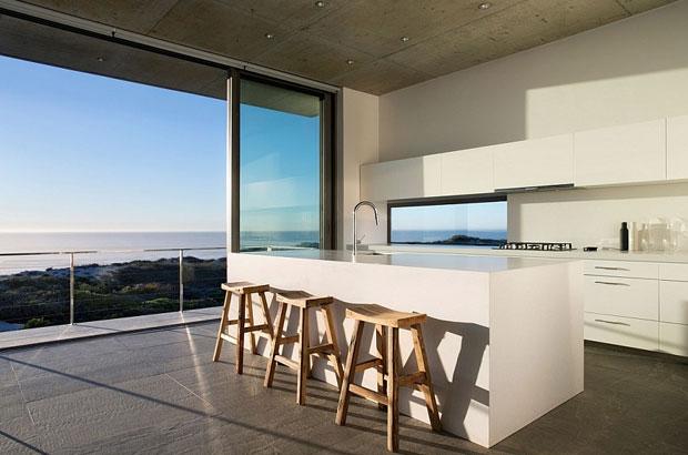kitchen set minimalis villa
