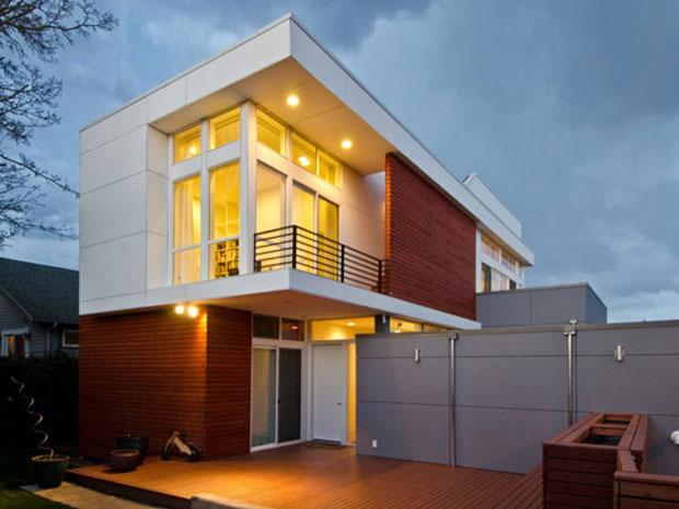 Rumah Kayu Minimalis Teduh Untuk Villa