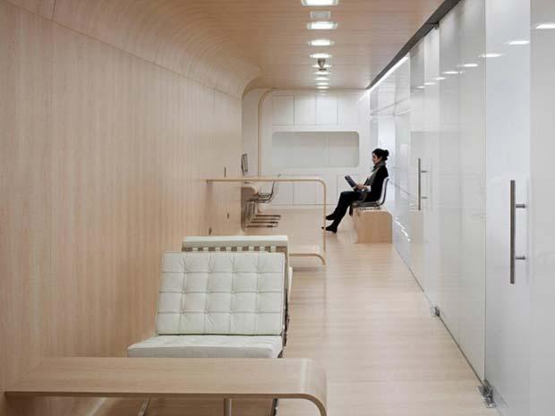 ruangan lobby klinik