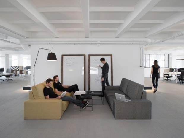desain kantor terbuka