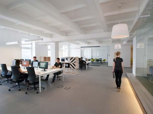 kantor terbuka