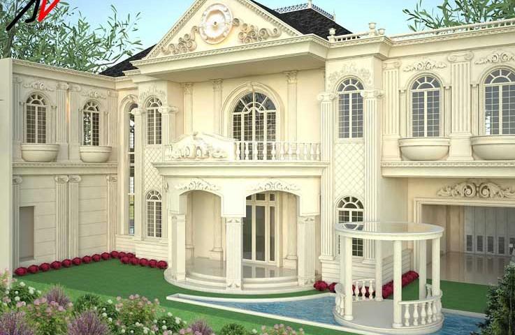 desain rumah klasik pak edi