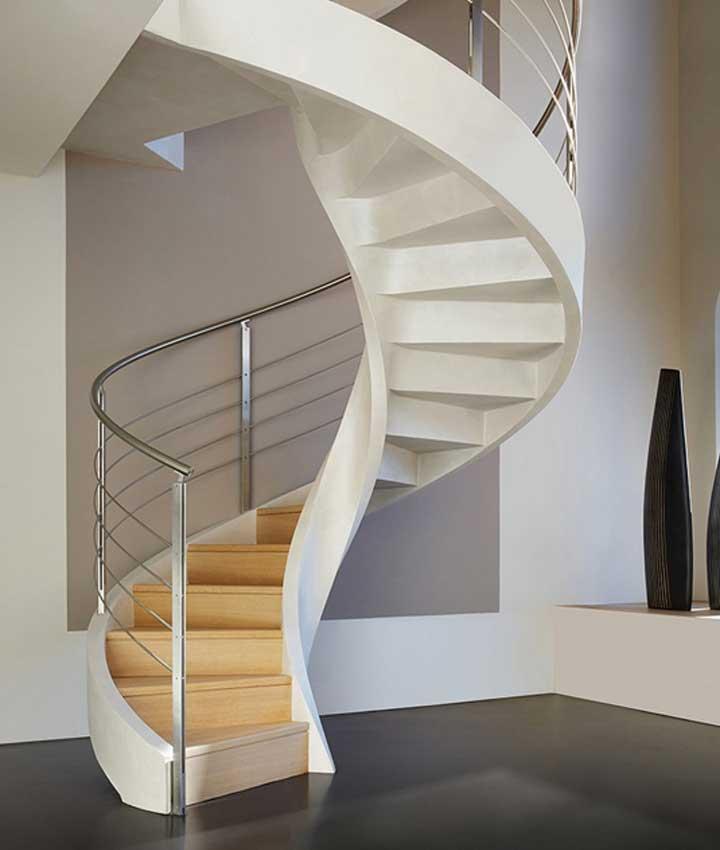 tangga spiral