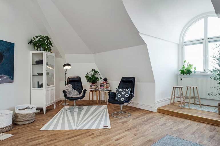 Desain Interior Rumah Cat Putih