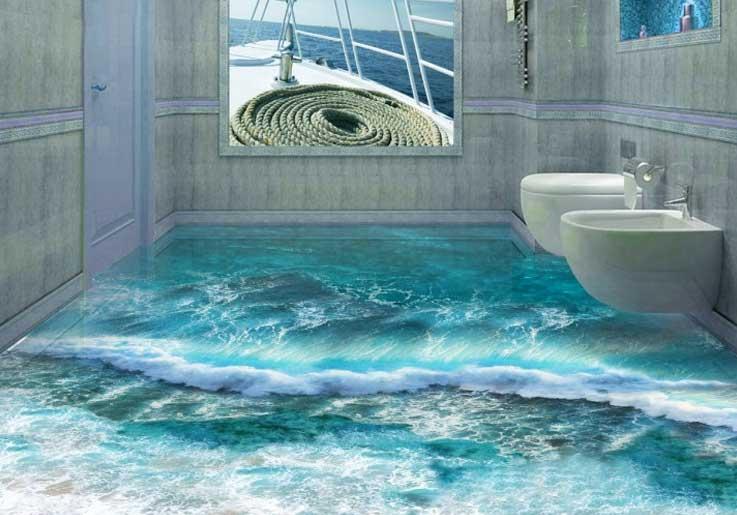 lantai rumah kamar mandi