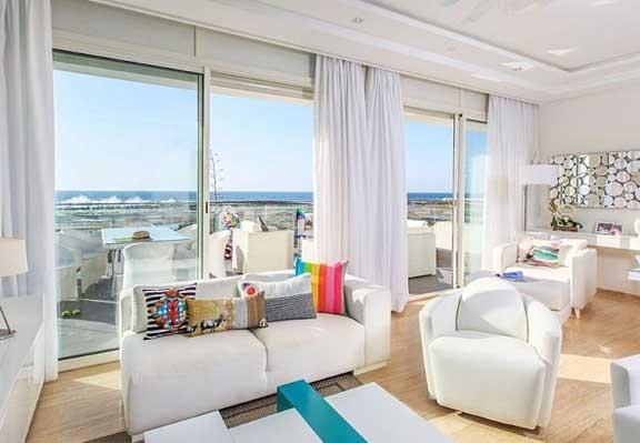 interior apartemen klasik mediteran