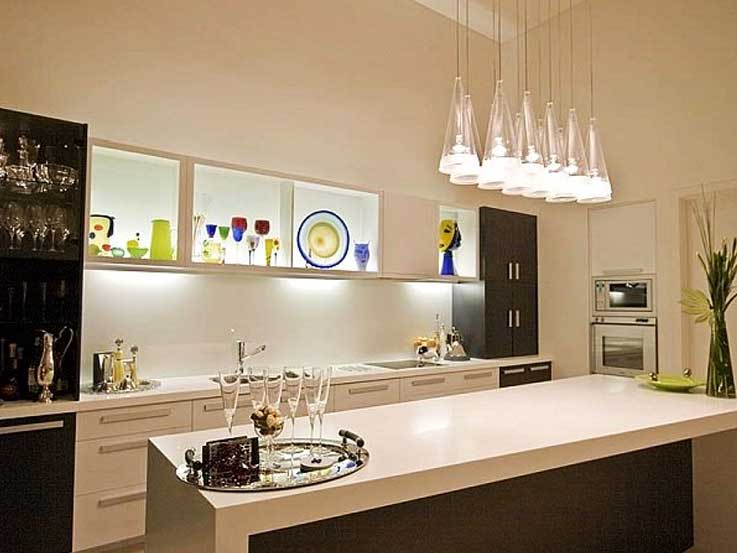 pencahayaan ruang dapur