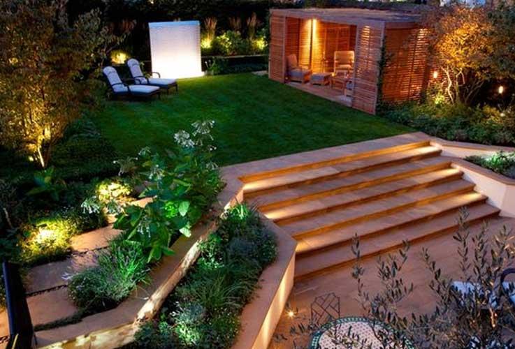 dekorasi taman rumah
