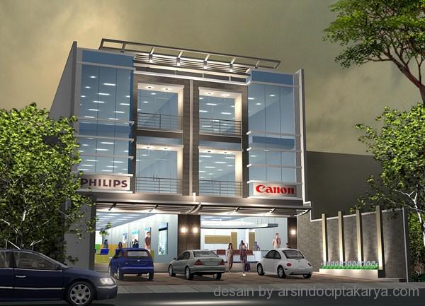 Desain Ruko Modern Untuk Memperindah Bangunan