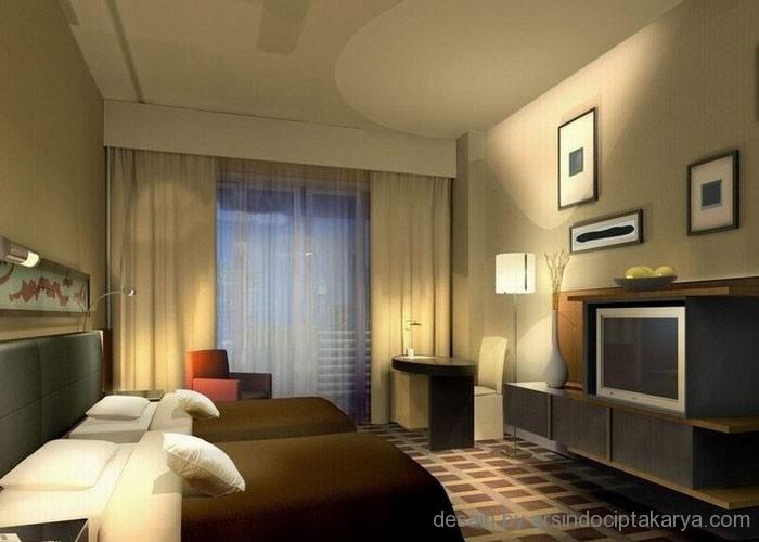 Desain Interior Kamar Hotel Demi Kenyamanan Pengunjung