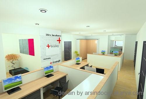 Desain Interior Kantor Dan Kenyamanan Pekerja Didalamnya