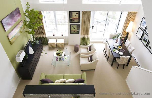 Ruang Keluarga Minimalis Desain Yang Nyaman