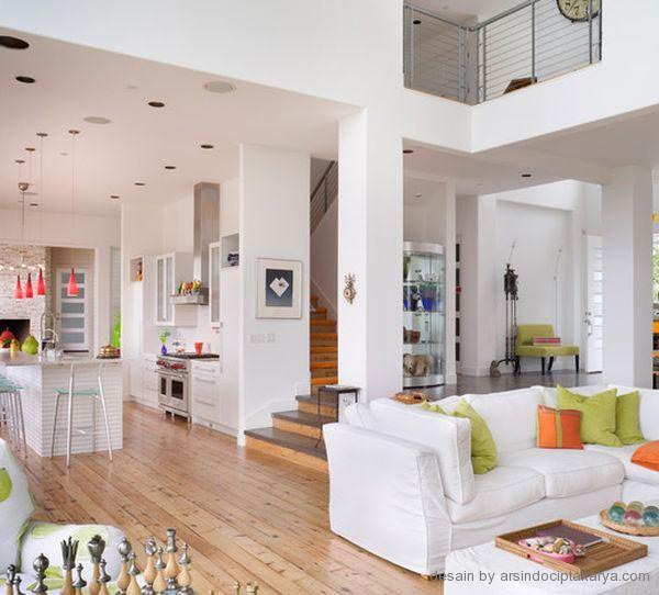 Konsep Ruang Keluarga Yang Dinamis Untuk Berpul