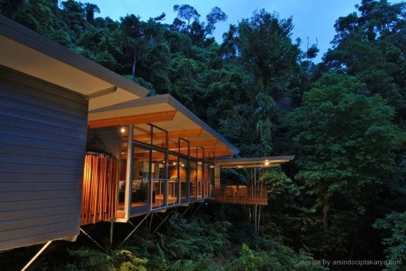 Jasa Arsitek Bogor Jasa Bangun Rumah Jakarta Rumah Kayu Ditengah