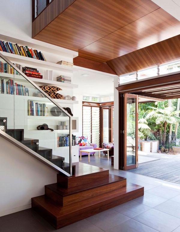 interior rumah minimalis lantai 2 di malang dan batu