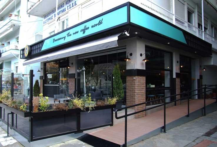 Desain Cafe Kontemporer Modern Dan Konsep Outdoor
